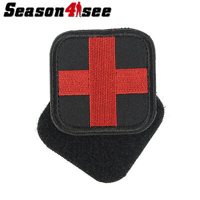 5CM Medic Red Cross Tactical Military Magic Patch First Aid Embroidery Armband