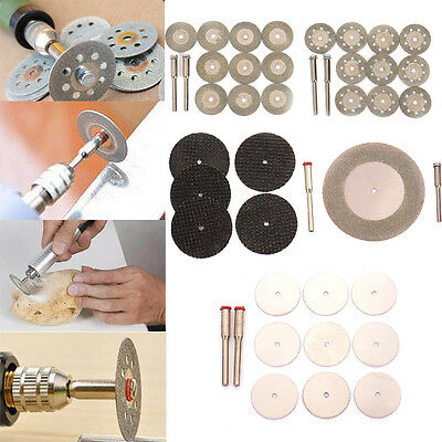 Diamond Rotary Cutting Grinding Disc Cut Off Blade Wheel Hand Tool with Mandrel