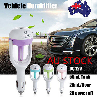 AU Car Vehicle Aromatherapy Essential Oil Diffuser Humidifier Purifier Cigarette