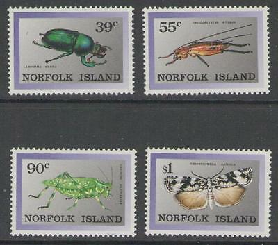 Norfolk Island Sg456/9 1989 Endemic Insects Mnh