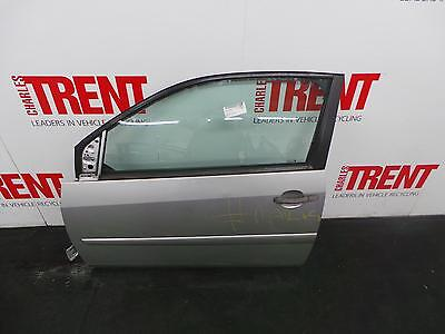 2006 FORD FIESTA 3 Door Hatchback Silver N/S Passengers Left Front Door