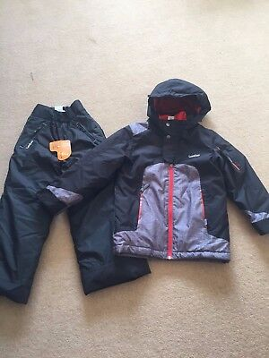 Brand New Girls Ski Snowboard Suit Peak Mountain Jacket & Wedze Trousers Age 6