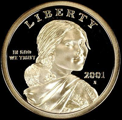 2001-S GEM CAMEO PROOF Sacagawea/Native American Dollar - From CherrypickerCoins