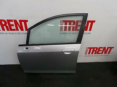 2007 HONDA JAZZ 5 Door Hatchback Silver N/S Passengers Left Front Door
