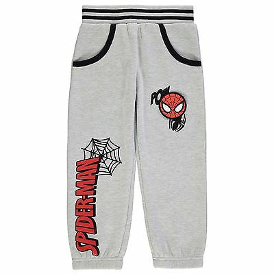 Character Kids Trousers Pants Jogging Bottoms Infant Boys Jersey Ribbed Print
