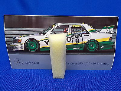 838) Aufkleber Sticker Mercedes Benz 190 E 2.5  - 16 Evolution Tourenwagen DTM