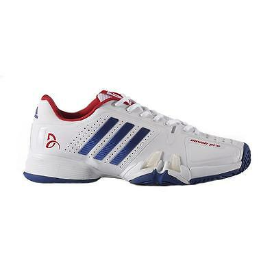 Adidas Mens Novak Pro Tennis Shoes - NEW 2017 - White | UK 8 9 10 11