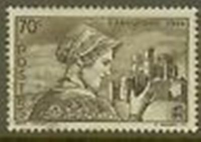 "France Timbre Stamp N° 448 "" Languedocienne Et Cathedrale "" Oblitere Tb"