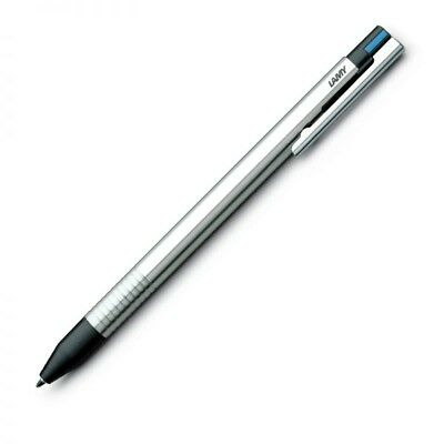 Lamy Logo 3 Color Ball Pen -  Stainless Steel - L405 - Brand New in Original Box