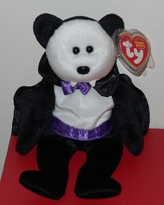 Ty Beanie Baby ~ COUNT the Halloween Bear ~ MINT with MINT TAGS ~ RETIRED