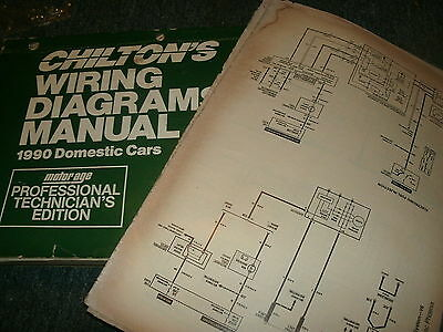 1990 buick regal oversized wiring diagrams schematics manual sheets set