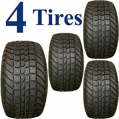 FOUR 205/50-10 low profile DOT Street / course legal golf cart TIRES 4ply DS7000