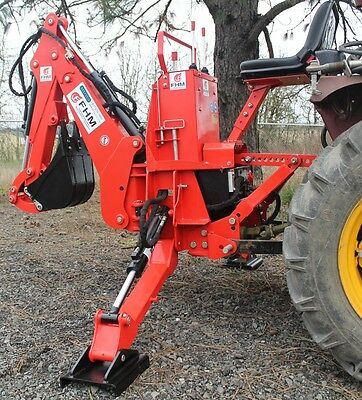 6' Dig Compact Self Contained 3pt Tractor Backhoe  Cat.I 25Hp+ (FH-BH6)