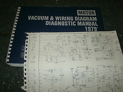 1979 ford pinto mercury bobcat wiring vacuum diagrams schematics sheets set
