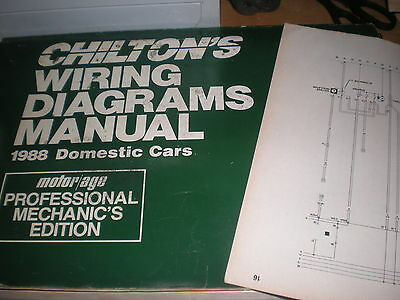 1988 Buick Electra Park Avenue Wiring Diagrams Schematics Manual Sheets Set