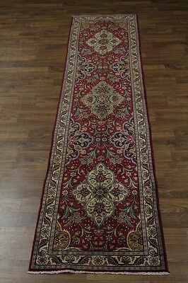 Gorgeous Hallway S Antique Handmade Tabriz Persian Rug Oriental Area Carpet 3X13
