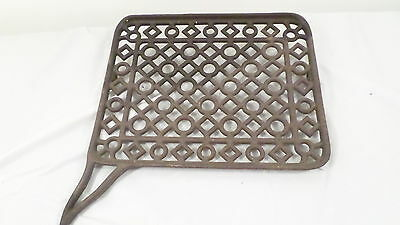 Antique Vintage Cast Iron Heavy Duty Sewing Machine Grate Pedal Base