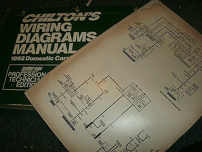 1992 geo storm oversized wiring diagrams schematics manual sheets set