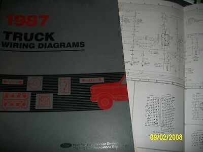 1982 Ford CL 9000 Truck Foldout Wiring Diagram Electrical Schematic OEM CL9000