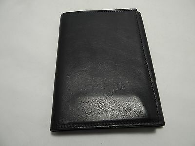 Marc Jacobs Collection Vintage Leather Passport Wallet Made in Italy Msrp 520.00