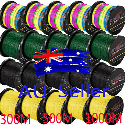 AU Spectra Dorisea 300M-1000M 10-100lb Dyneema Braided Fishing Line Multi colors