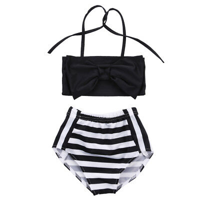 Kids Baby Girls Bikini Suit Swimsuit Swimwear Bathing Swimming Clothes Beachwear