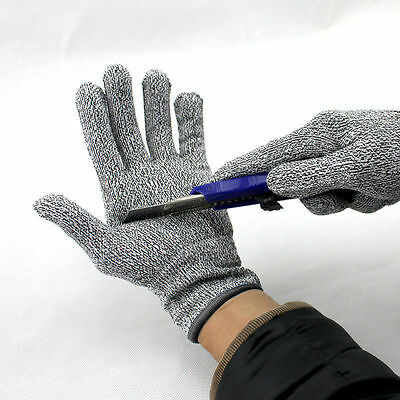 1 Pair Cut Resistant Gloves NoCry High Performance Level 5 Protection Anti Slash