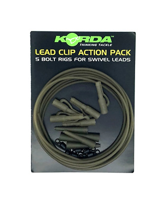 Korda Lead Clip Action Pack For Carp Fishing