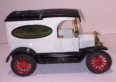 Vtg. ERTL Telephone Pioneers 70th Anniversary 1911-1981 1913 Model T Van Bank