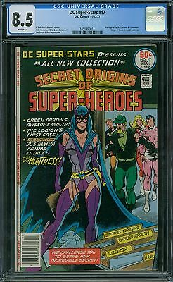DC Super-Stars 17 CGC 8.5 - White Pages
