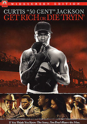 Get Rich or Die Tryin' (DVD, 2006) - NEW!!
