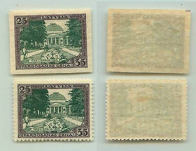 Latvia, 1925, SC B26, MNH, imperf (perf stamp for compare, not included). f3914