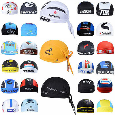 2017Style outdoor Sports Bicycle Bike Cycling Pirate Hats Caps Bandana Headbands