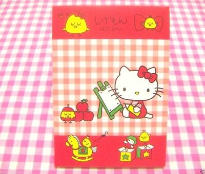Sanrio Hello Kitty x Fairy Bird Shigemon Collaboration Memo Pad / Japan 2014