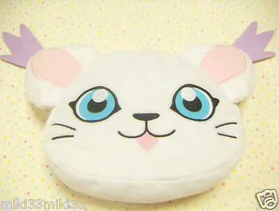 Digimon Adventure Tailmon Plush Pouch / Japan Anime BANPRESTO Game Toy Cute Bag