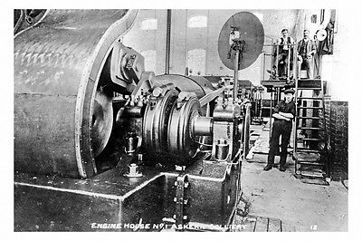 pt6173 - Askern Colliery , Engine House No 1 , Yorkshire - photo 6x4