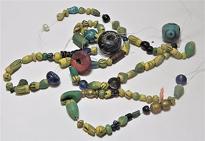 Zurqieh -Af1812-  Ancient Egypt. Lot Of Beads, Mostly Glass, Mostly Roman. 200 A