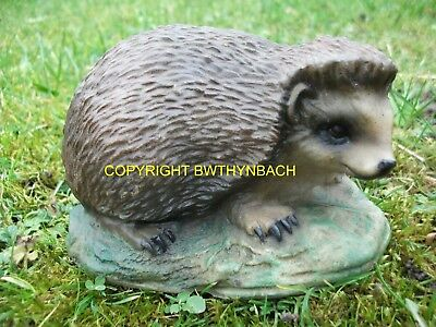 New Design Rubber Latex Mould Moulds Mold To Make Garden Ornament Small Hedgehog