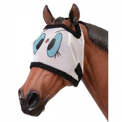 "Tough 1 Draft Horse Size ""Ladybug style"" Fly Mask horse tack equine 85-52"
