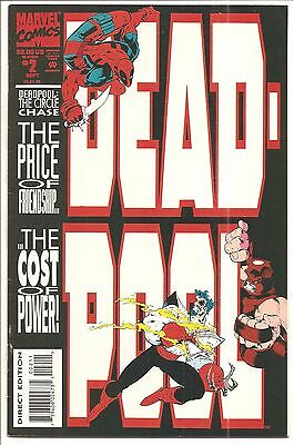 Deadpool The Circle Chase #2/Joe Madureirra/1993 Marvel Comics