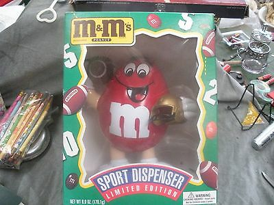1995 M&m's Limited Edition Sports Dispenser - Football