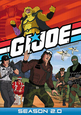 Gi Joe Real American Hero: Season 2 [New DVD] Full Frame