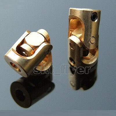 Brass Universal Joint 3-3mm Miniature Copper Coupling Specification Complete
