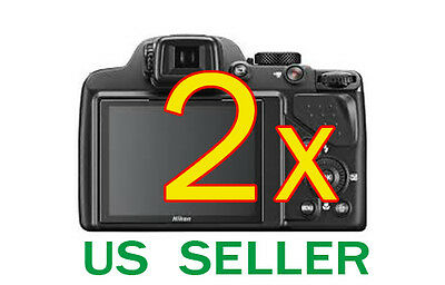 2x Clear LCD Screen Protector Guard Cover Shield Film For Nikon Coolpix P530