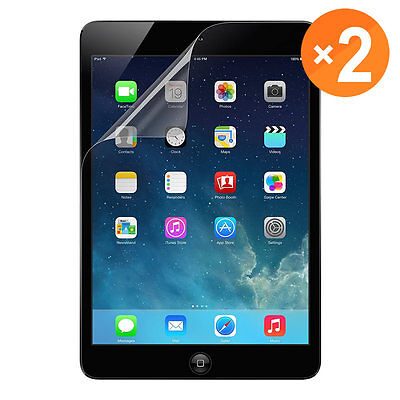 2 Pack Premium HD Clear Screen Protector Guard for iPad 2017 Air 1/2 Mini 1/2/3