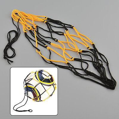 3pcs Nylon Net Bag Ball Carry Mesh Volleyball Basketball Football Soccer Holder