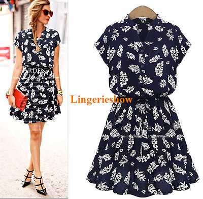 Plus Size Summer Fashion Women Feather Casual Slim Evening Cocktail Party Dress
