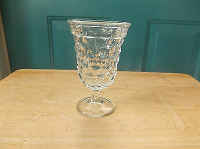 """Fostoria American or Colony Whitehall 5 3/8"""" Clear Glass Water, Tea, Wine Goblet"""