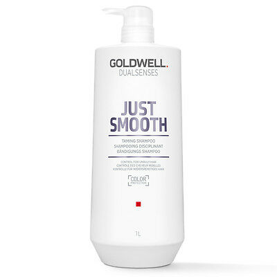 (18,49€/L) Goldwell Dualsenses Just Smooth Taming Shampoo 1L