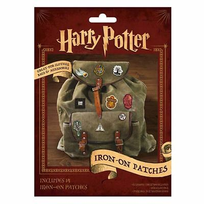 Officially Licensed Harry Potter Iron-On Patches